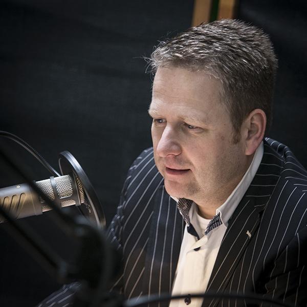 Frans Kroon presentator OVS radio en TV